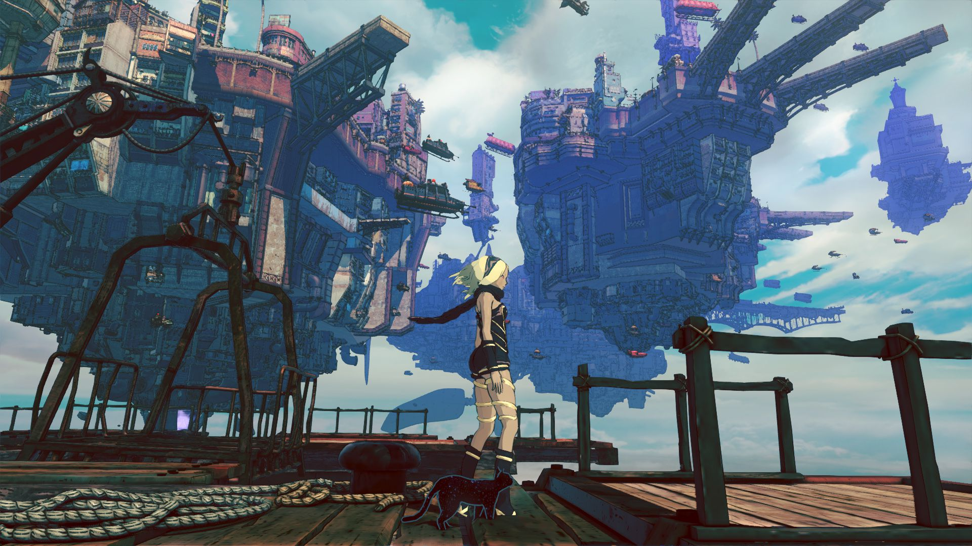 Review Gravity Rush 2 Slant Magazine