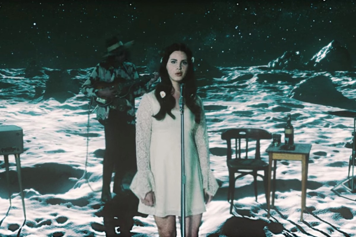 "Lana Del Rey Gets Far-Out in Spacey ""Love"" Music Video"