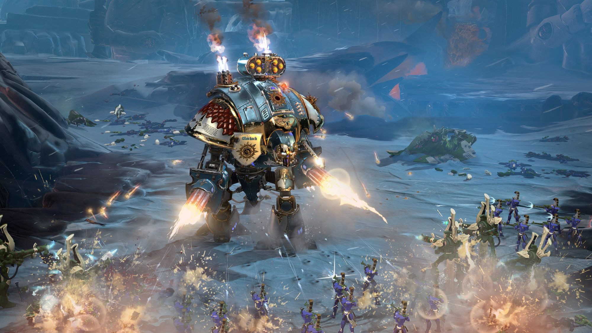 Review: Warhammer 40,000: Dawn of War III - Slant Magazine