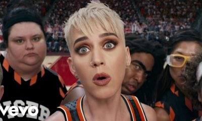 "Katy Perry Gets Her Game on in Star-Studded ""Swish Swish"" Music Video"