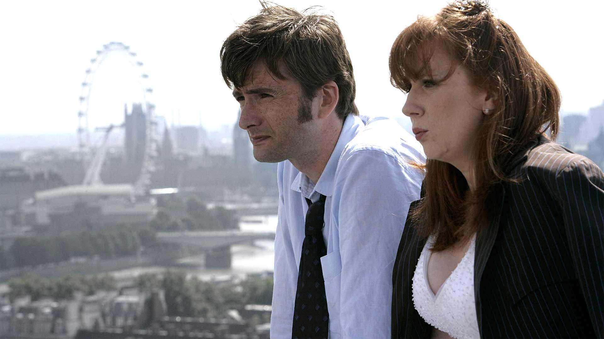 "Doctor Who Recap: Season 3, Christmas Special & Episode 1, ""The Runaway Bride"" & ""Smith and Jones"""