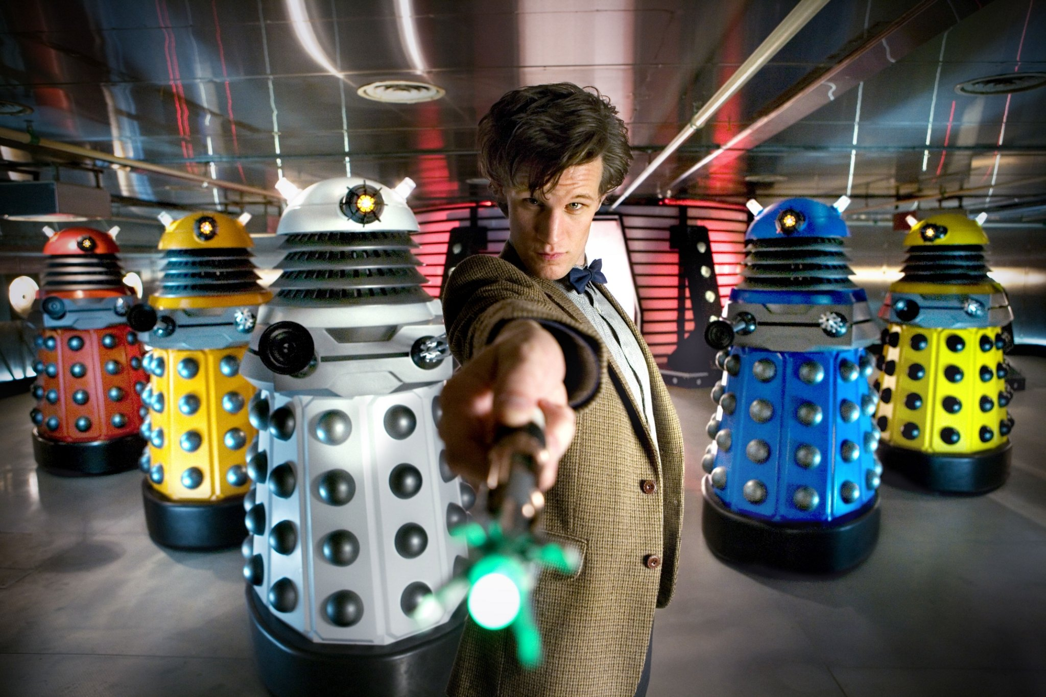 "Doctor Who Recap: Season 5, Episode 3, ""Victory of the Daleks"""