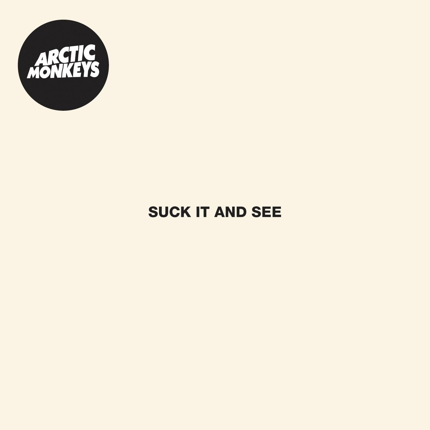 Arctic Monkeys, Suck It and See