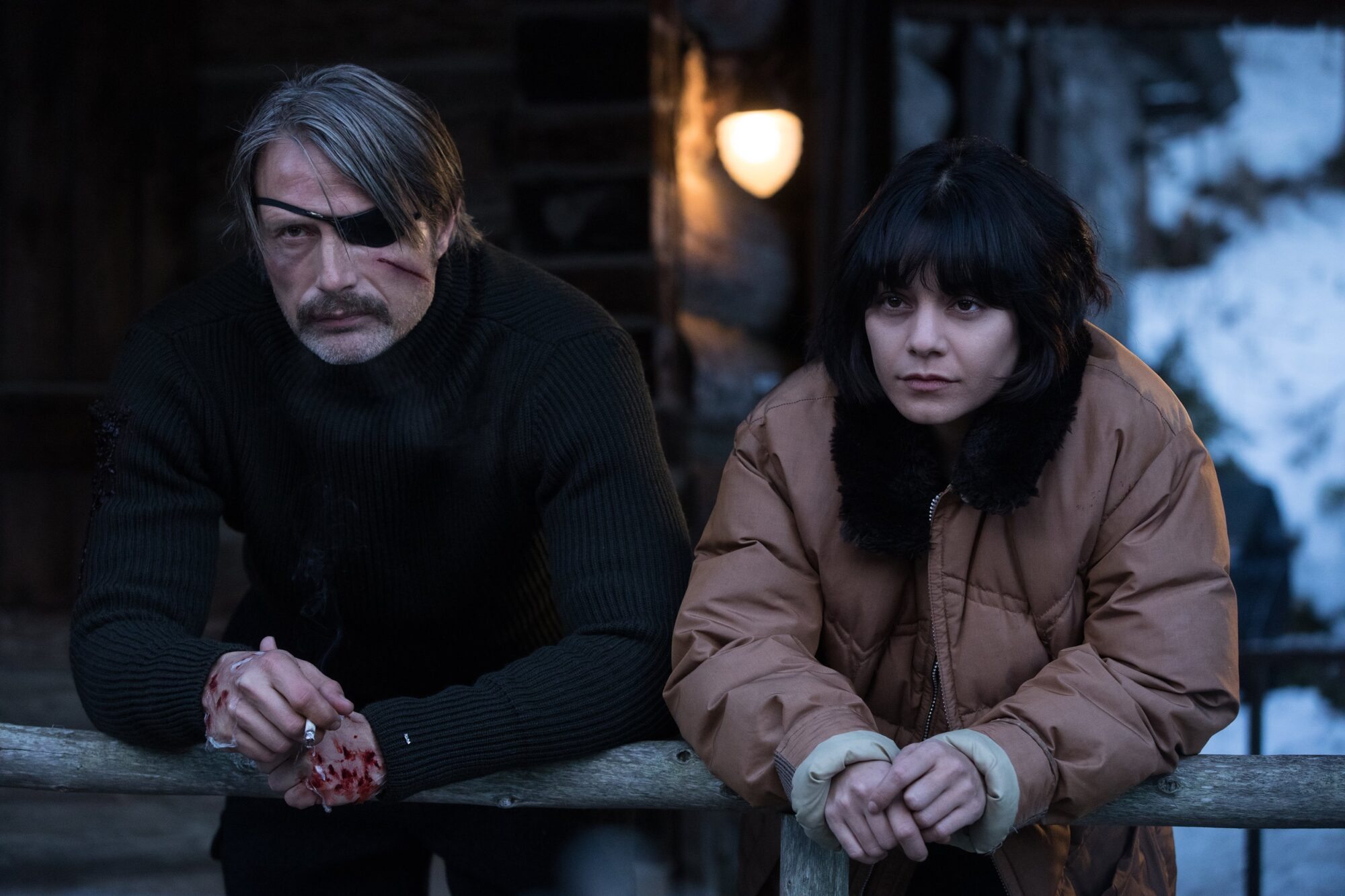 Movie Poster 2019: Review: Mads Mikkelsen Almost Saves Polar, Which Is Too