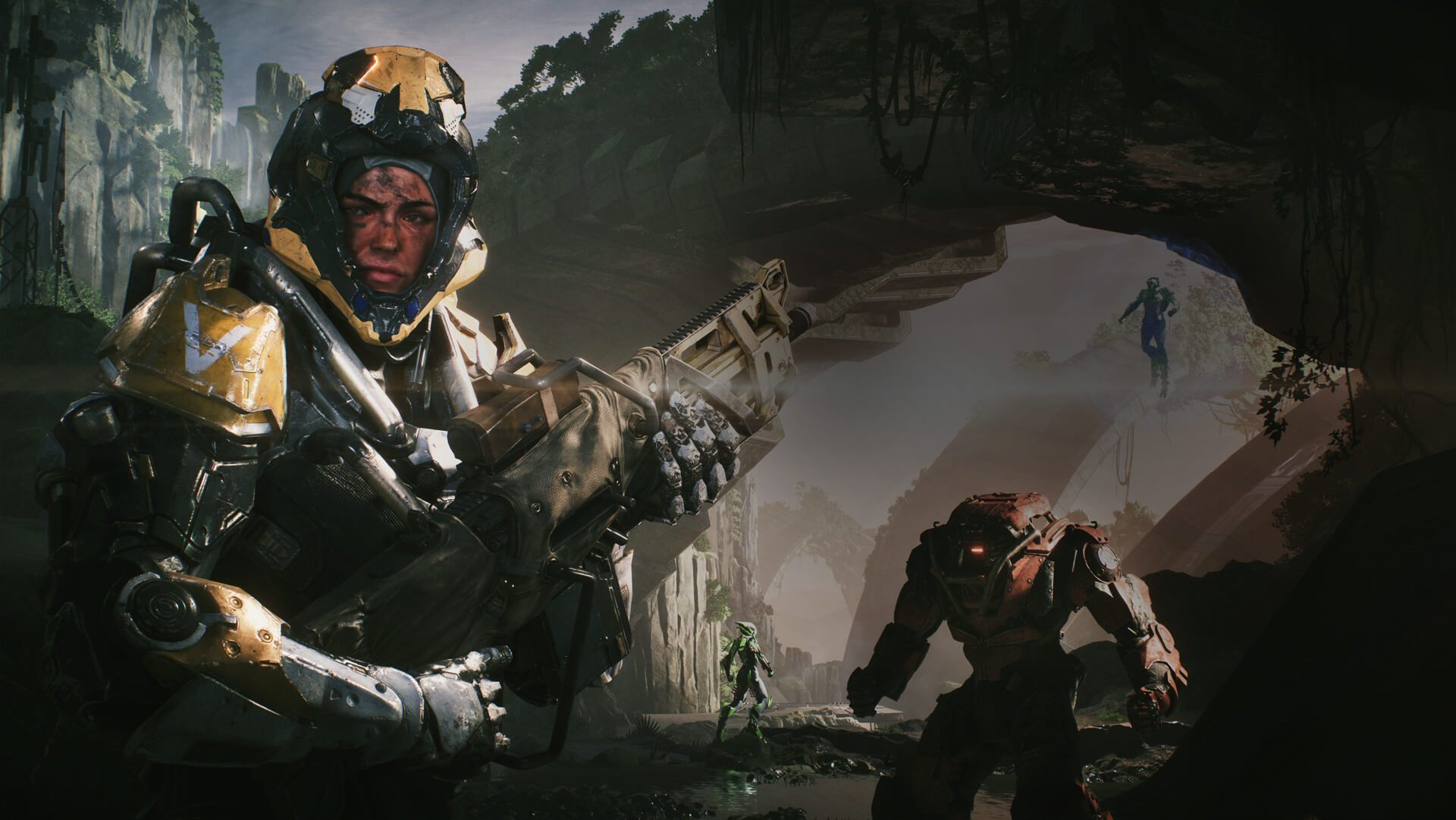 Review Bioware S Barely Competent Anthem Is At War With Itself