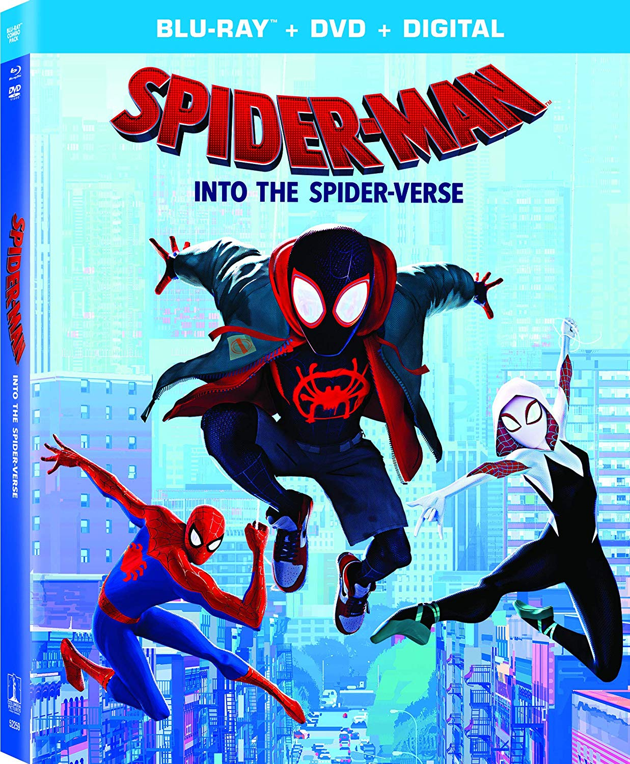 Review Spider Man Into The Spider Verse On Sony Blu Ray