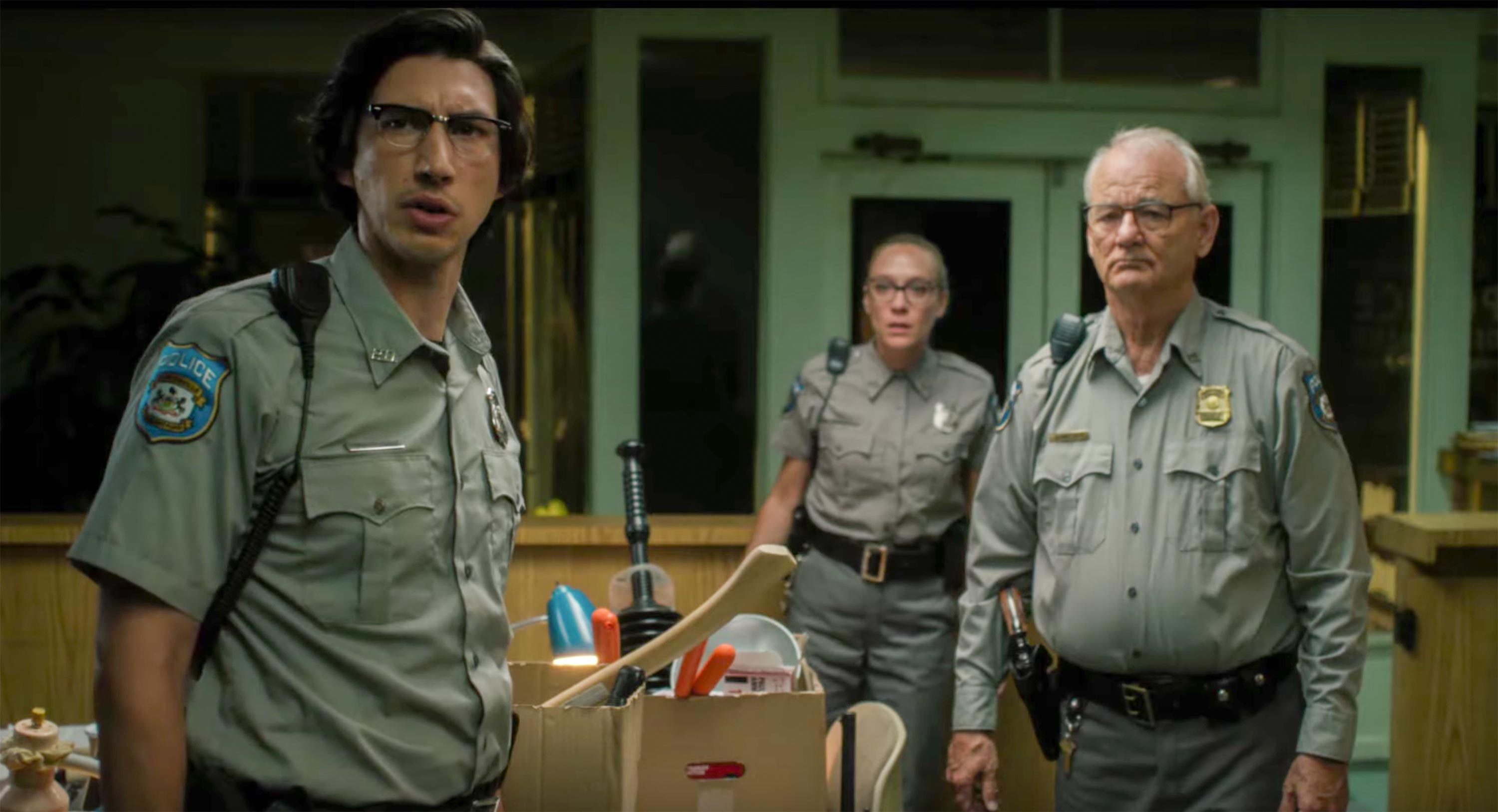 Jim Jarmusch's The Dead Don't Die, with Adam Driver and Bill Murray