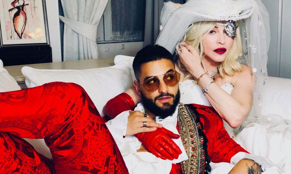 "Madonna Unveils Carnivalesque ""Medellín"" Music Video Featuring"
