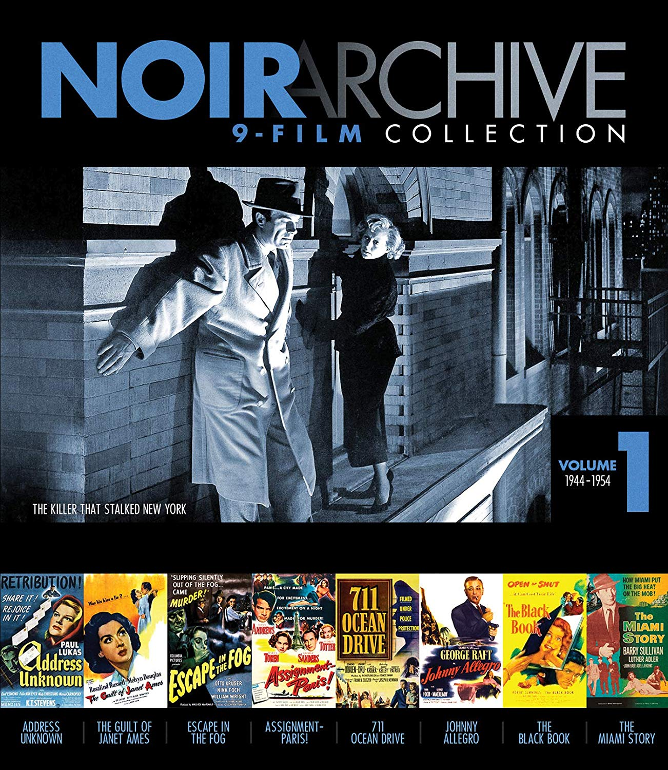 Noir Archive Volume 1: 1944 - 1954