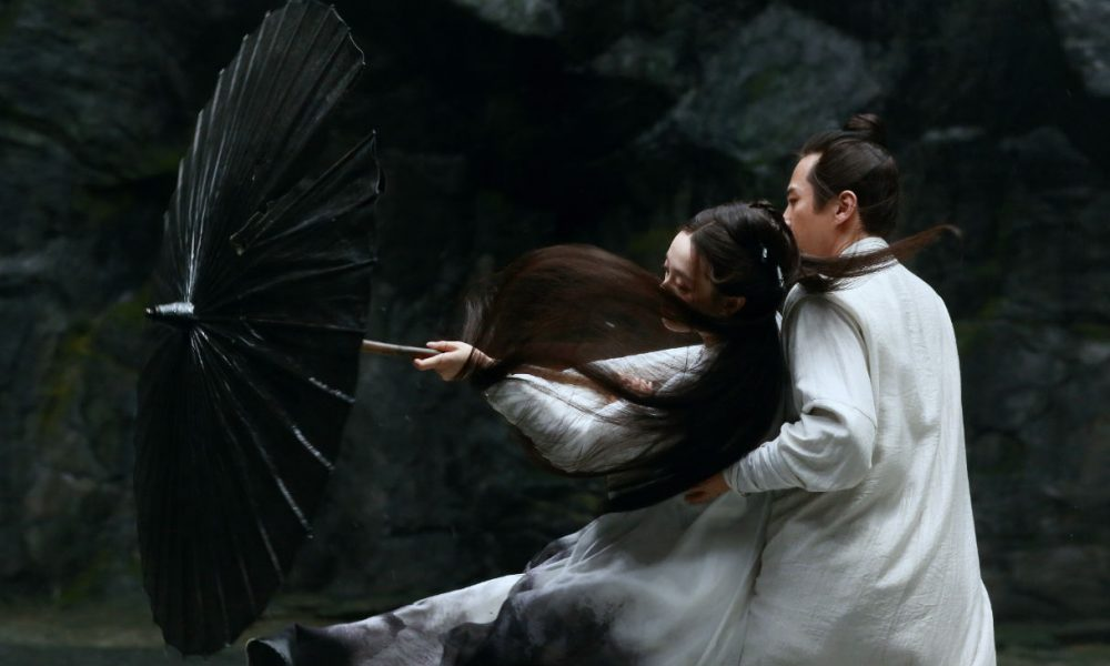 0ec6ff2c3768 Review  Zhang Yimou s Shadow Weaves a Vibrant Crazy Quilt of Textures -  Slant Magazine