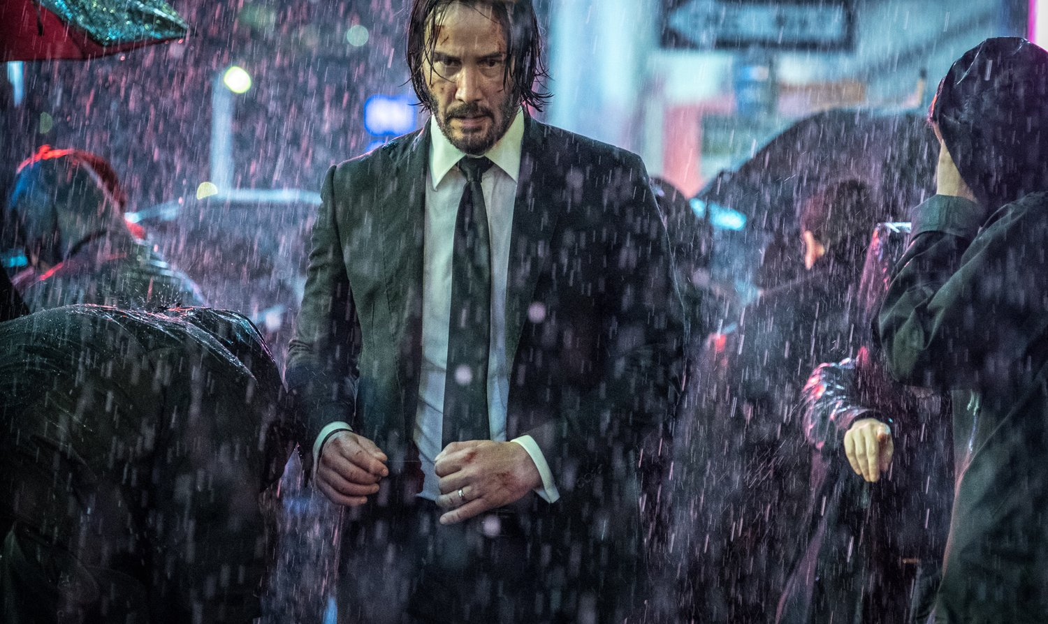 john wick five stages of grief