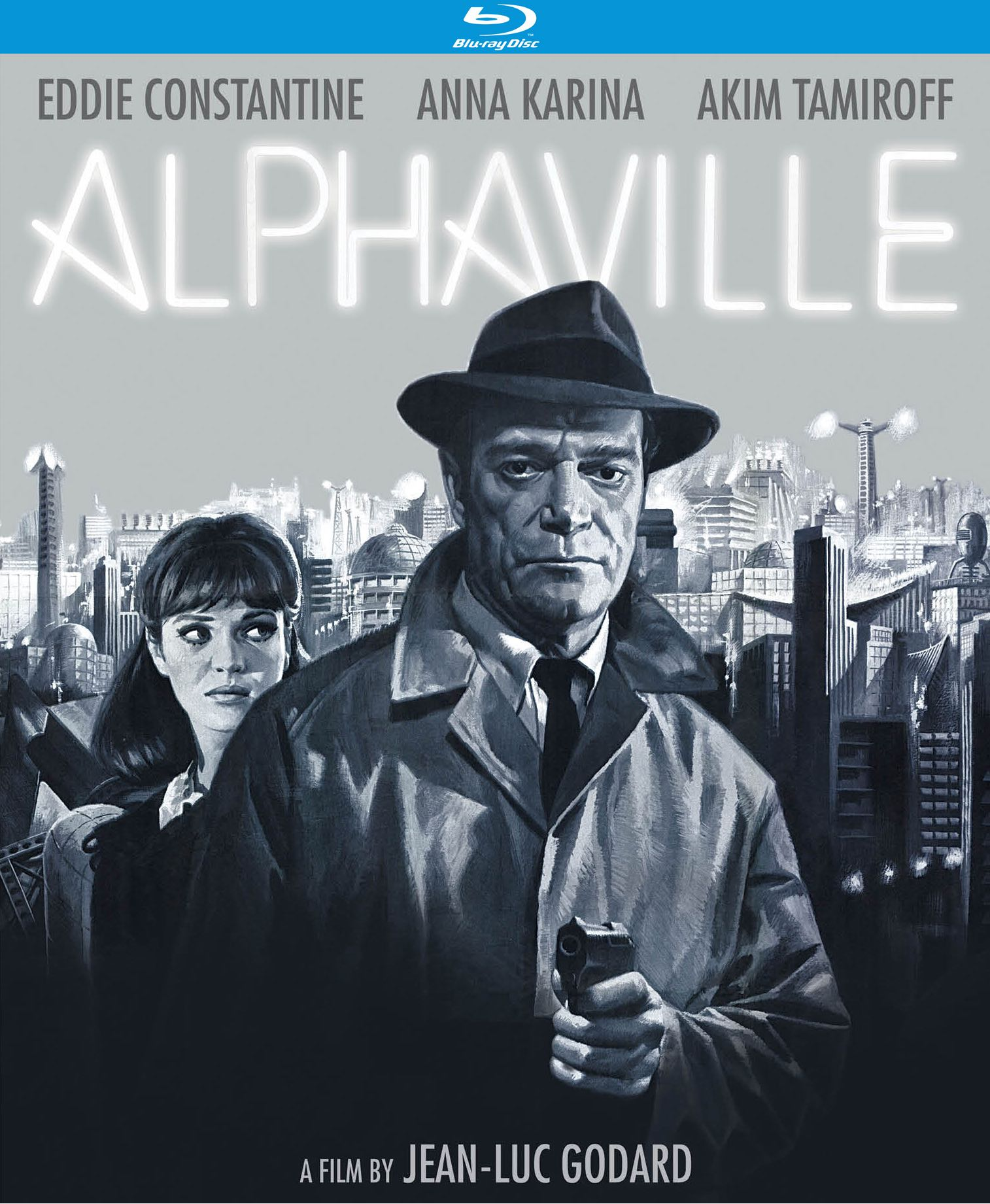Review: Jean-Luc Godard's Alphaville on Kino Lorber Blu-ray - Slant