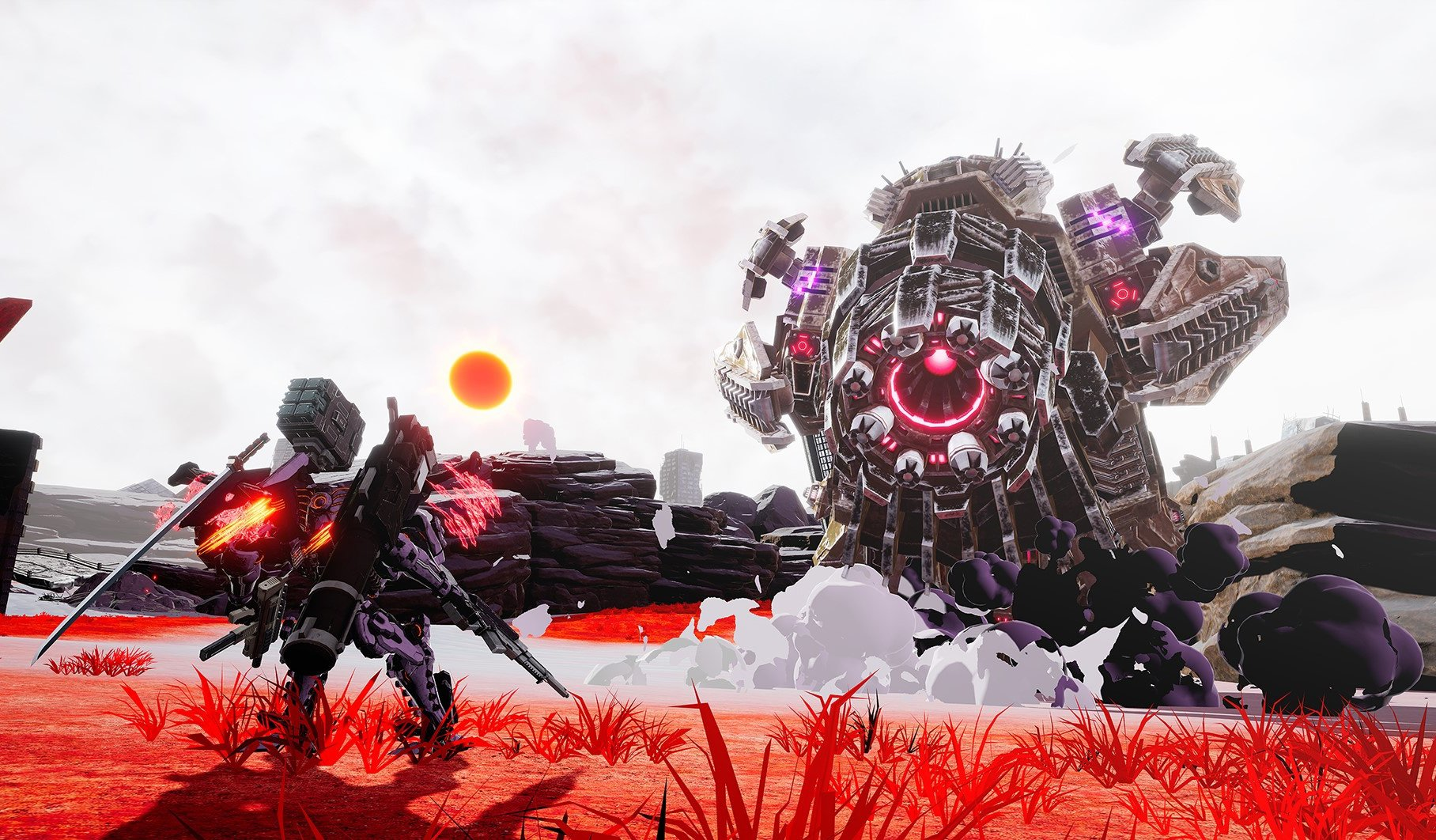 Daemon X Machina Review Taking The Exhilaration Out Of