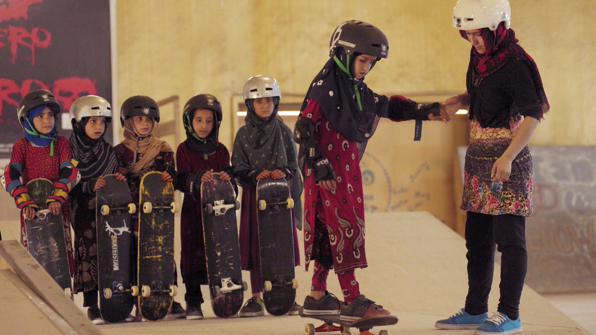 Learning to Skate in a Warzone (If You're a Girl)