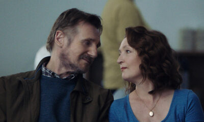 Lesley Manville and Liam Neeson